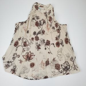 Maurices Floral Print Sleeveless Top